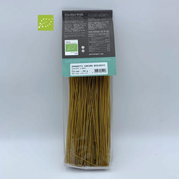 Spaghetti di Semola con Curcuma Bio