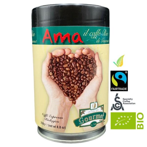 Caffè Espresso Biologico Miscela AMA Blend