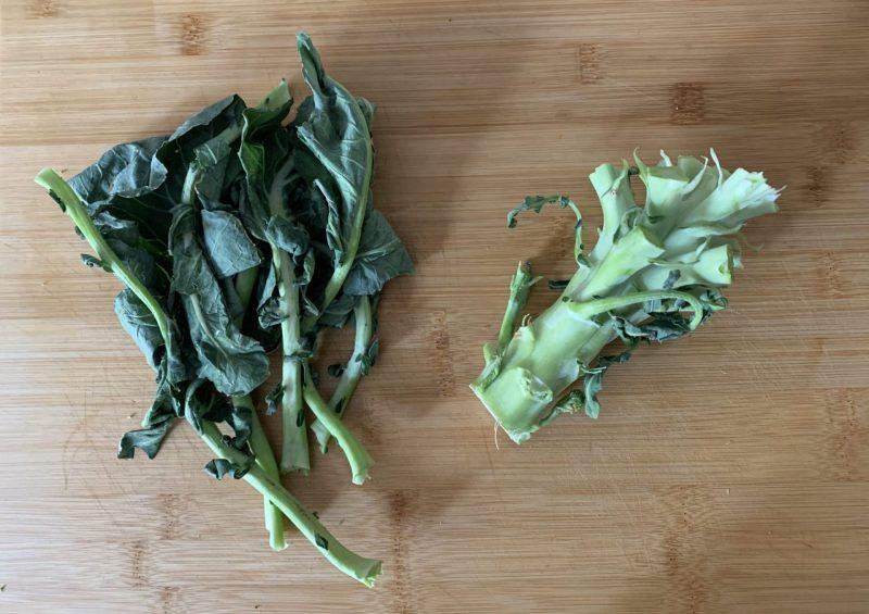 """Zero sprechi: pesto di """"scarti"""" di broccoli"""