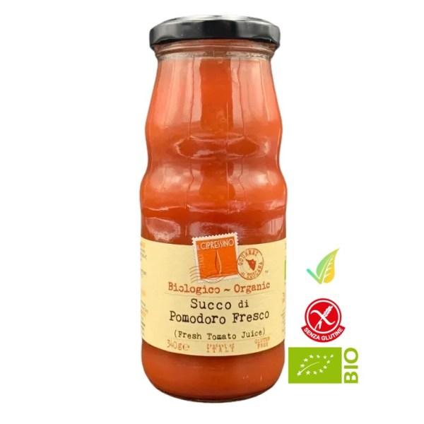 Succo di Pomodoro fresco Biologico