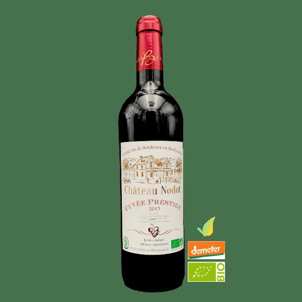 Cuvée Prestige Blaye - Côtes de Bordeaux 2015