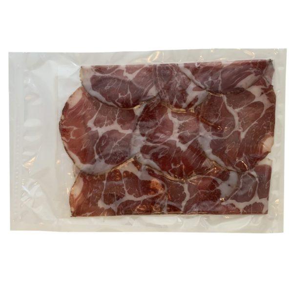 lonza stagionata di maiale brado di norcia
