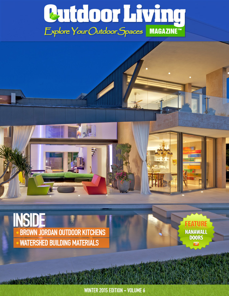 Outdoor Living Magazine U2013 Winter 2015 : Alpentile Glass Tile Pools And Spas