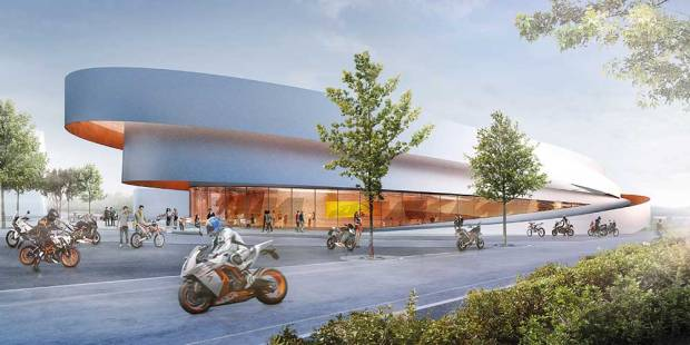 KTM Motohall in Mattighofen