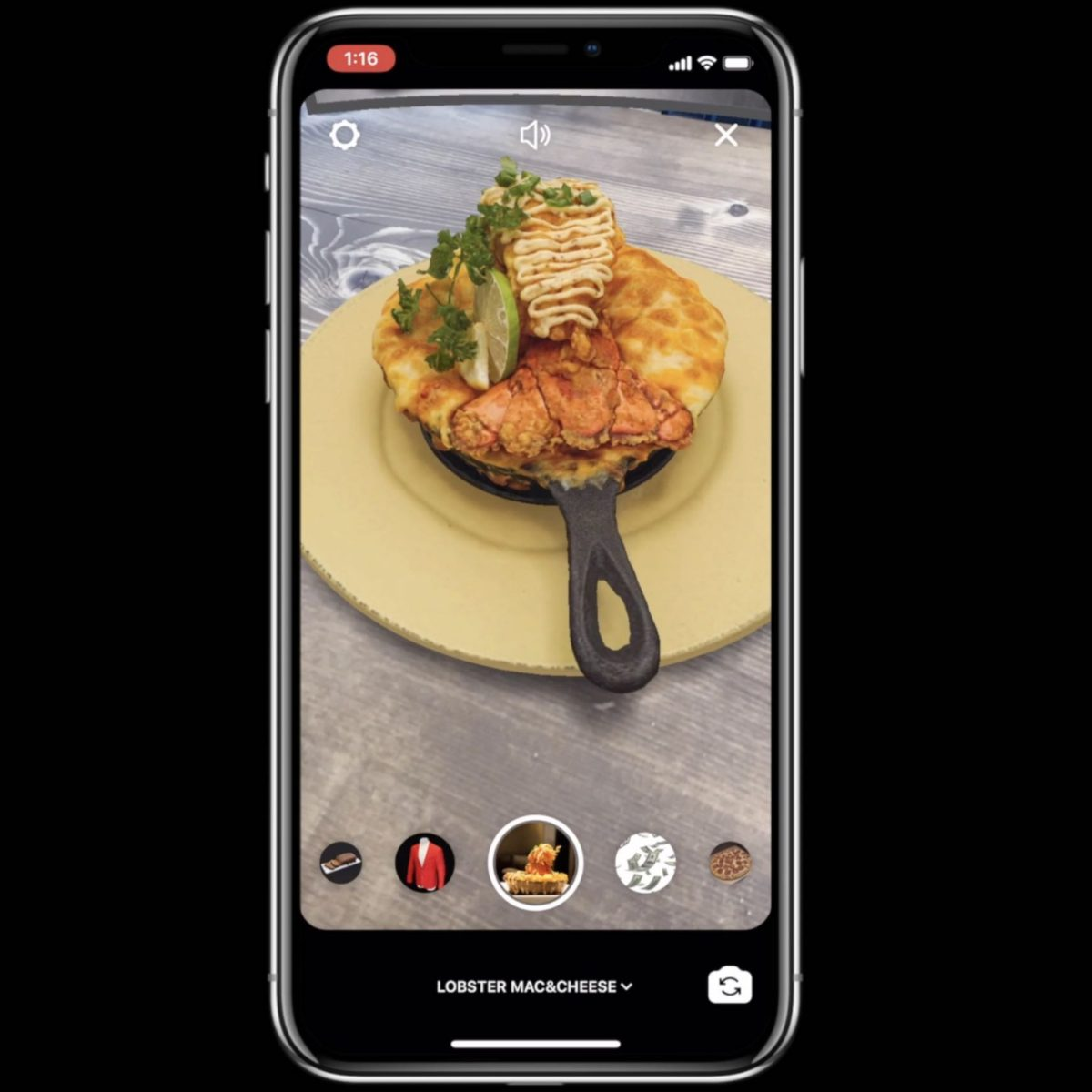 Instagram Effects for Food - Alper Guler - Augmented Reality New York