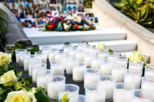 Cérémonie à la mémoire des victimes de l'attentat du 14 juillet 2016