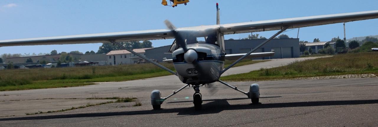 Schnupperflug mit der Cessna 152