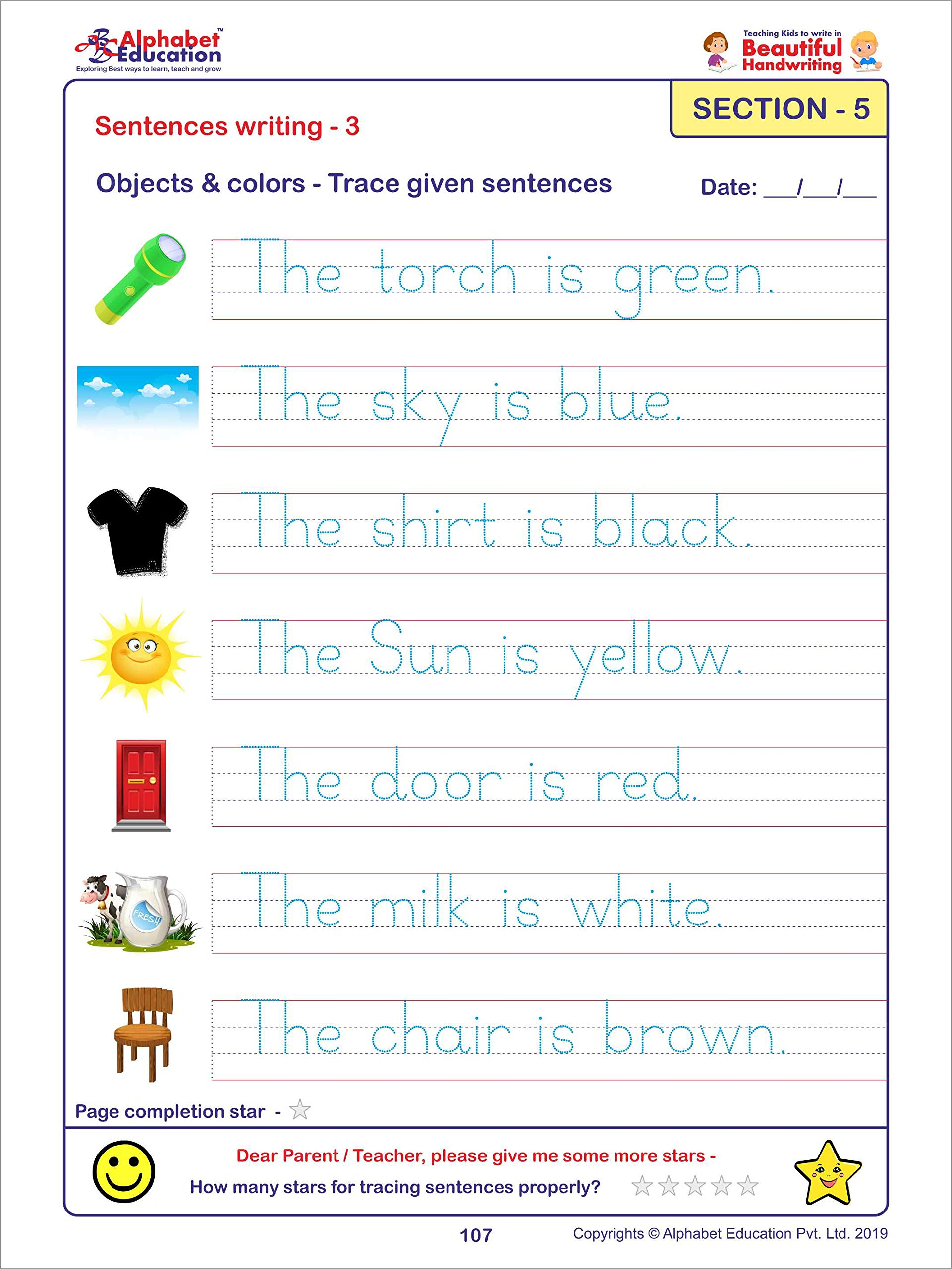 Buy Teaching Kids To Write In Beautiful Handwriting Book