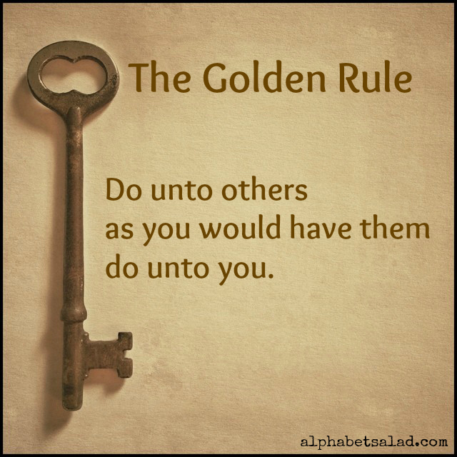 "Image result for images of ""the golden rule"""