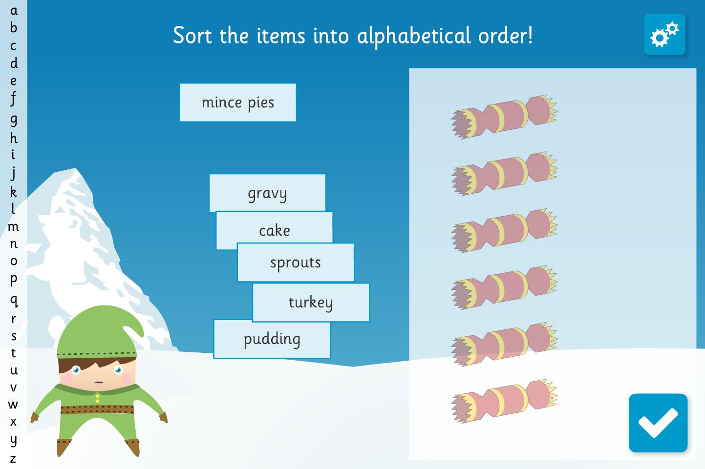 Alphabet Ordering Worksheets Ks1