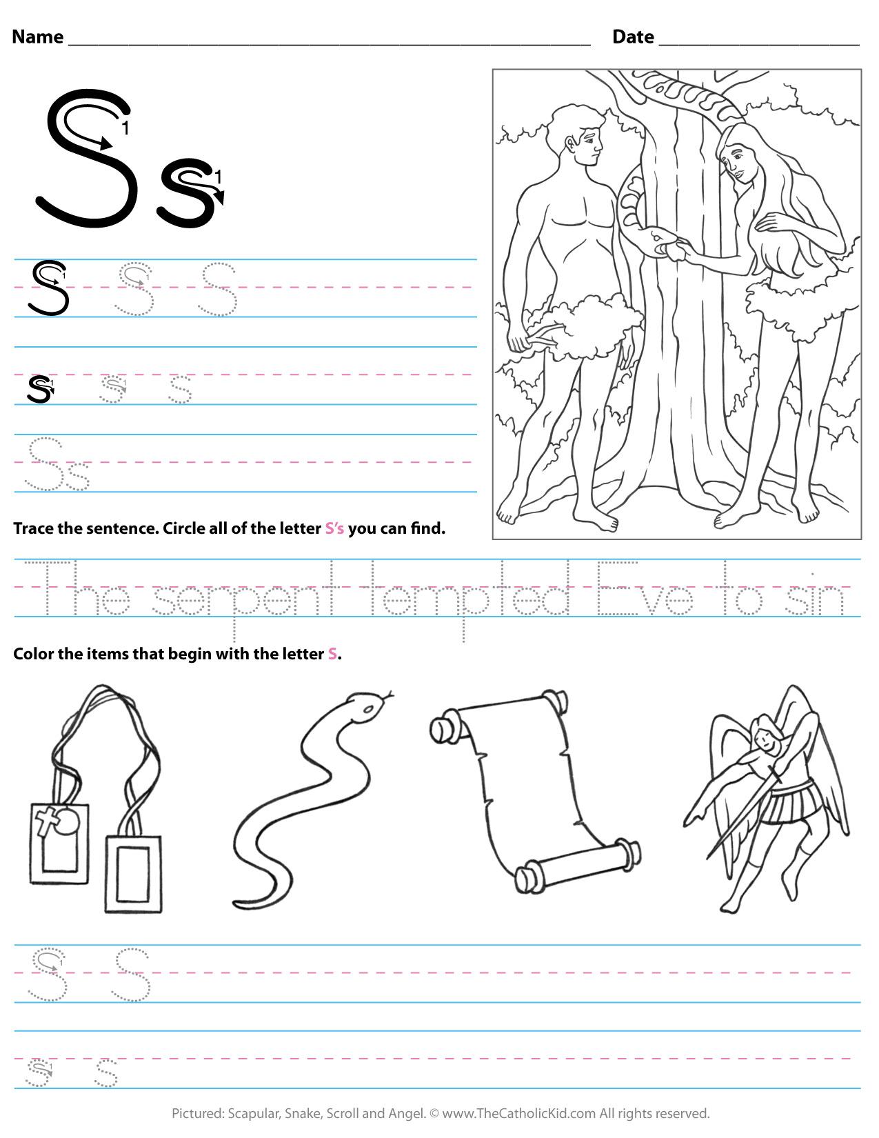 Letter Ii Worksheets For Kindergarten