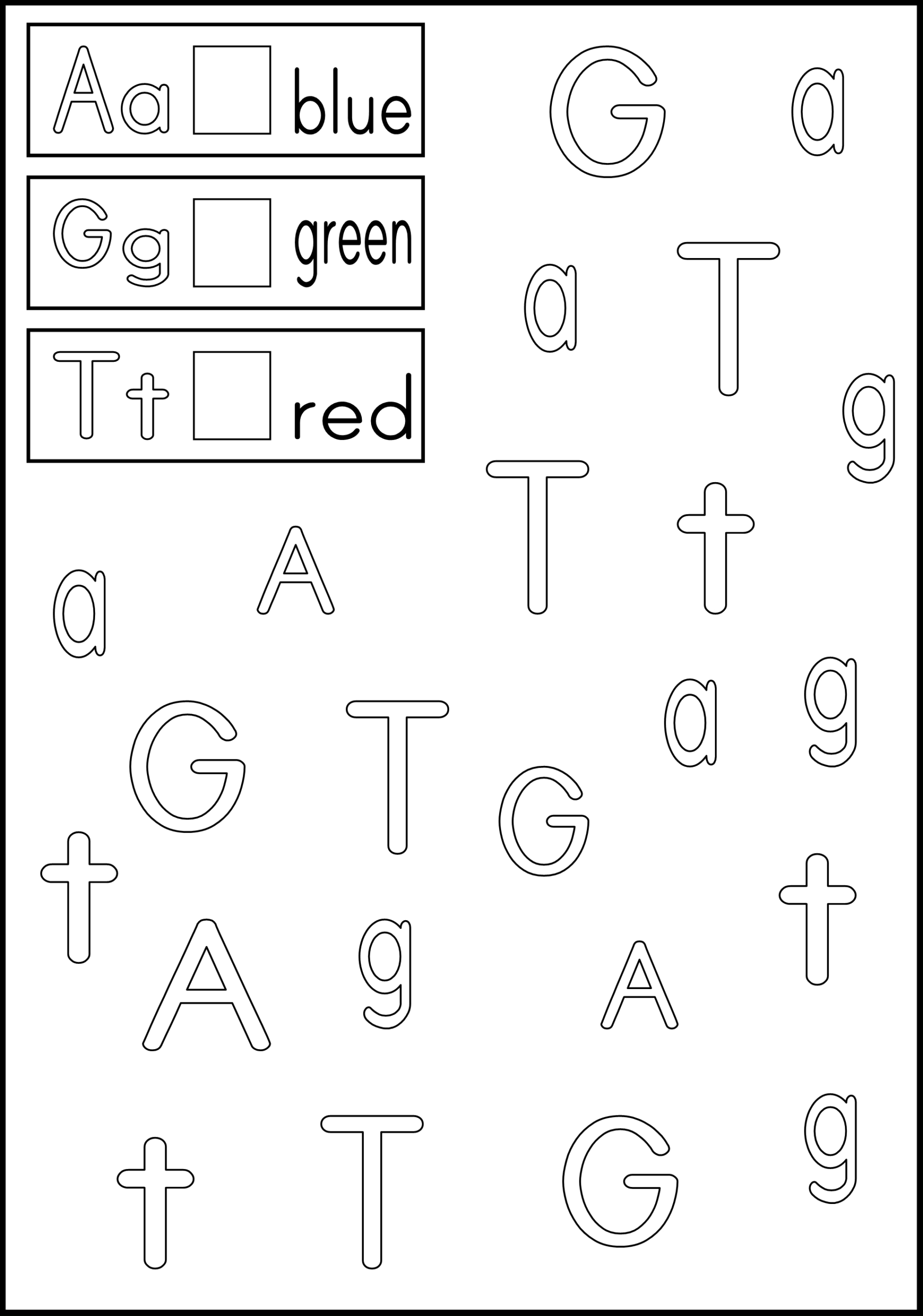 Alphabet Worksheets For Ukg