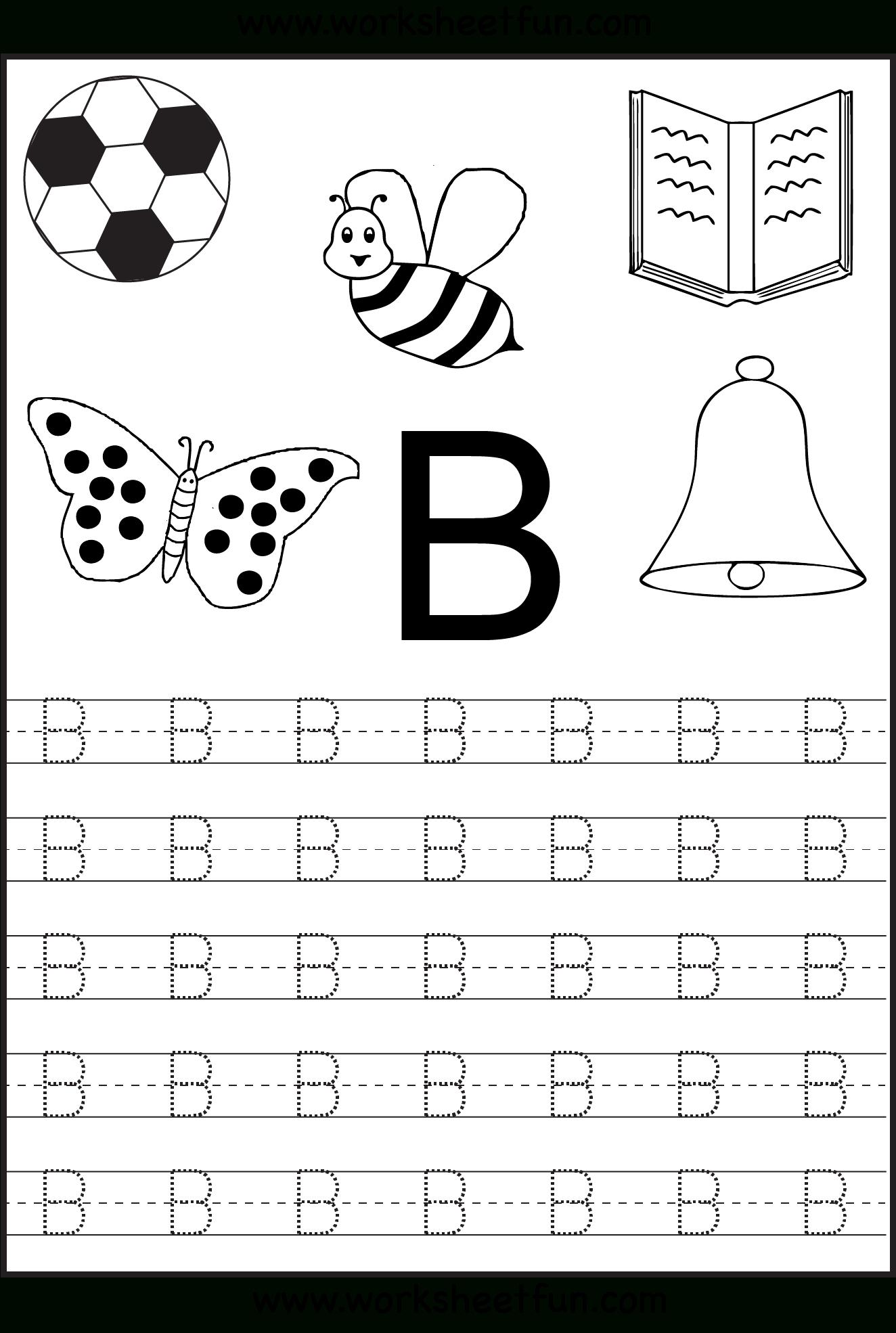 Alphabet Worksheets For Preschoolers Printable