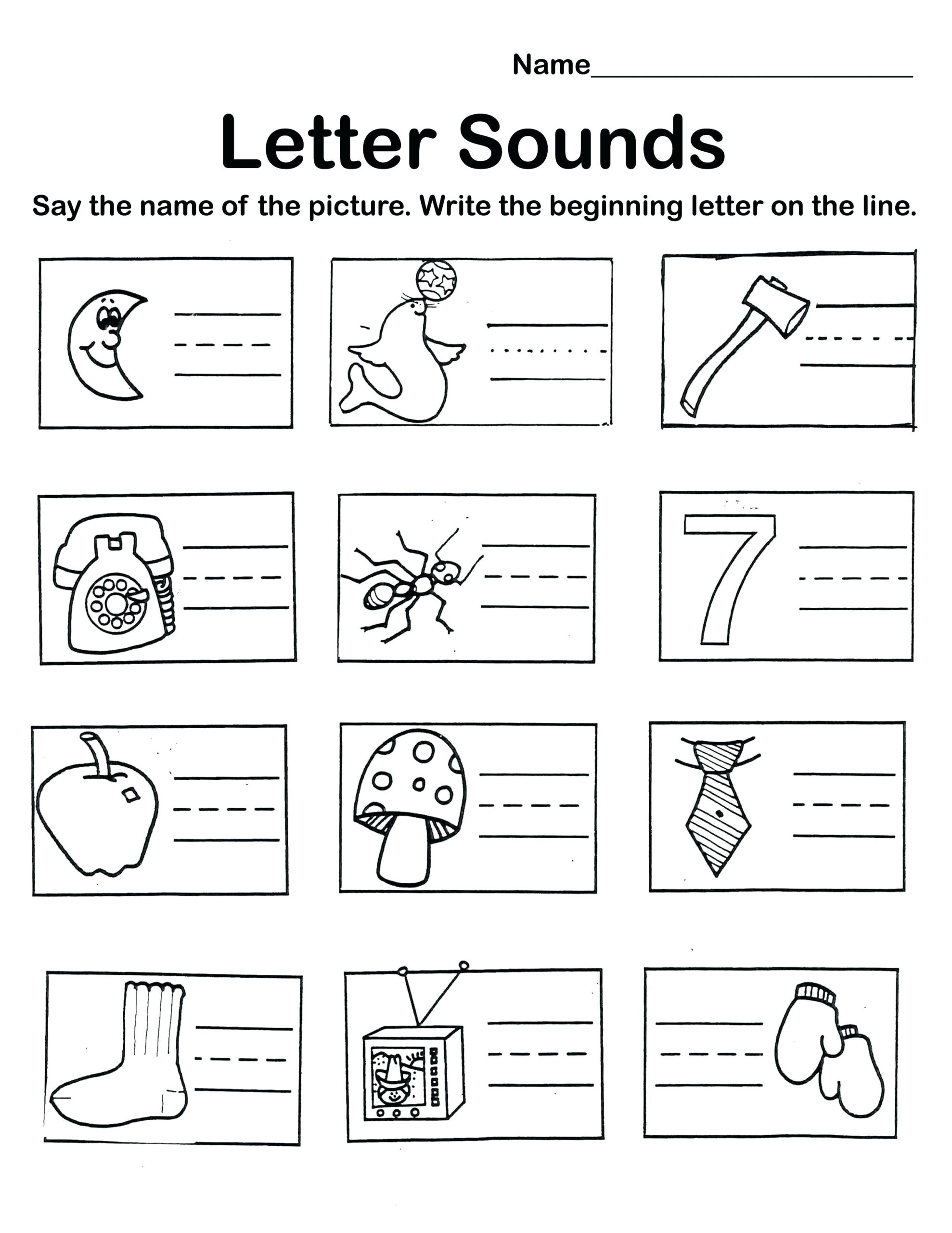 I Letter Worksheets