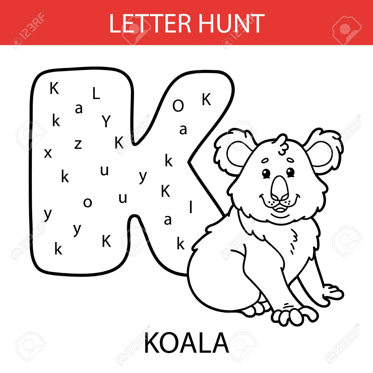 Alphabet Hunt Worksheets