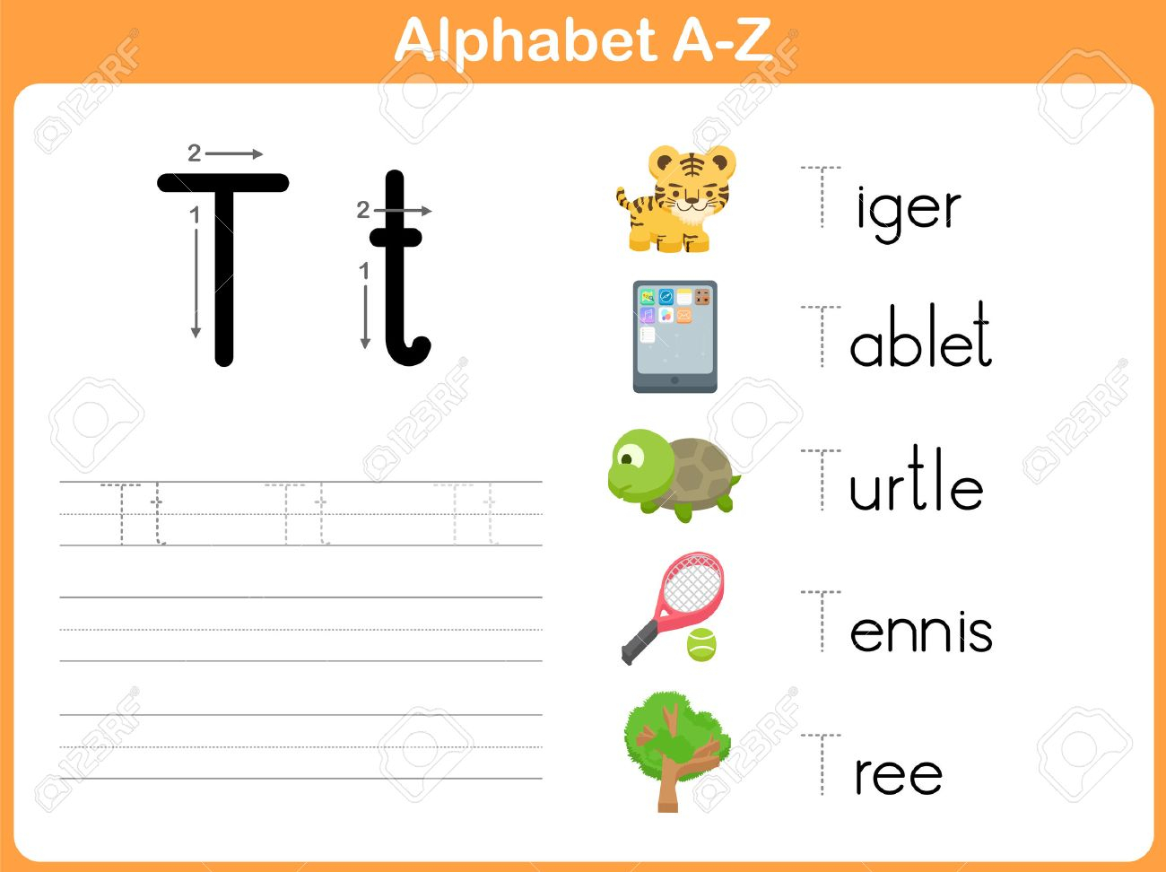 Alphabet Tracing Tablet