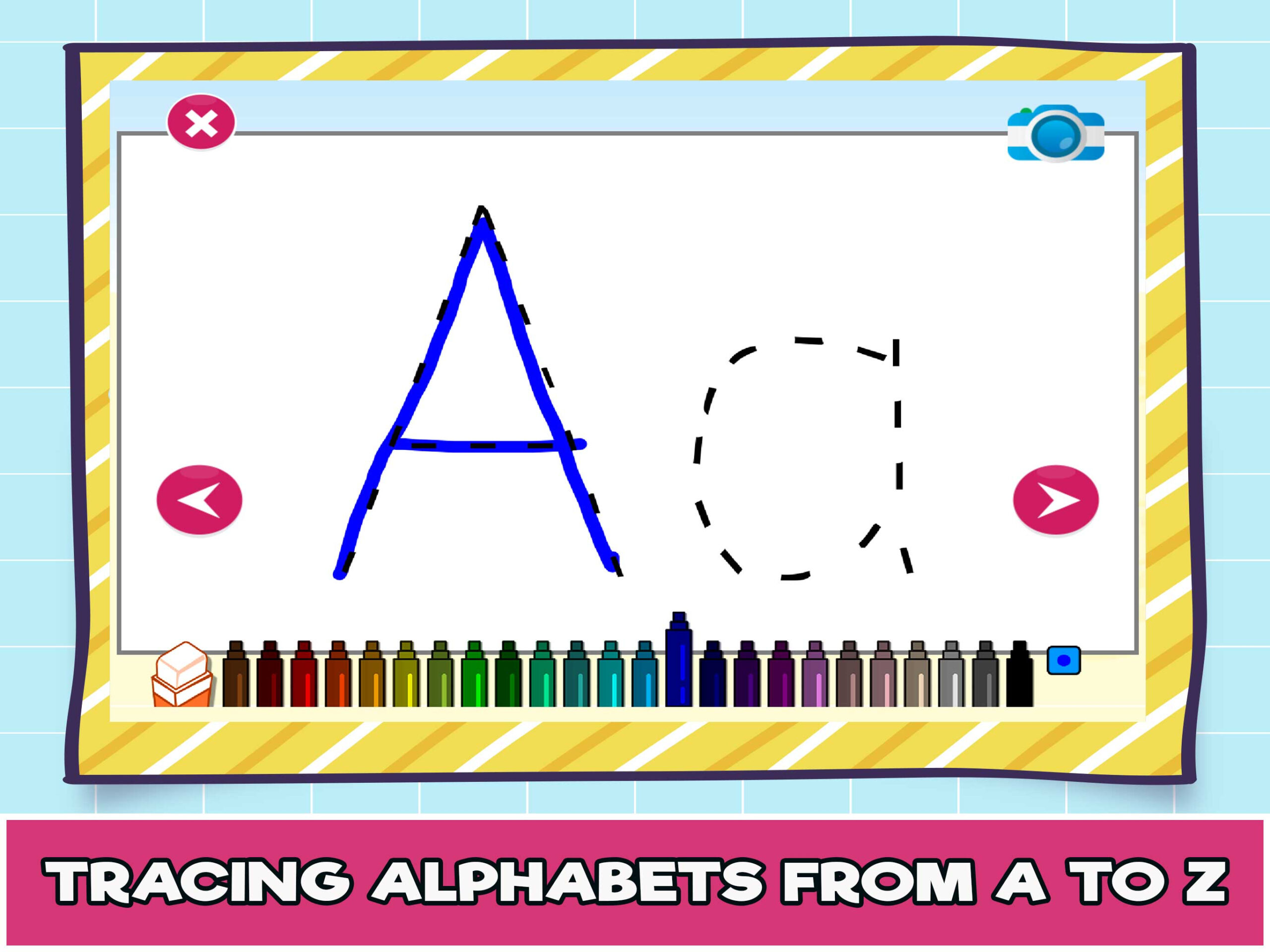 Letter Tracing Online