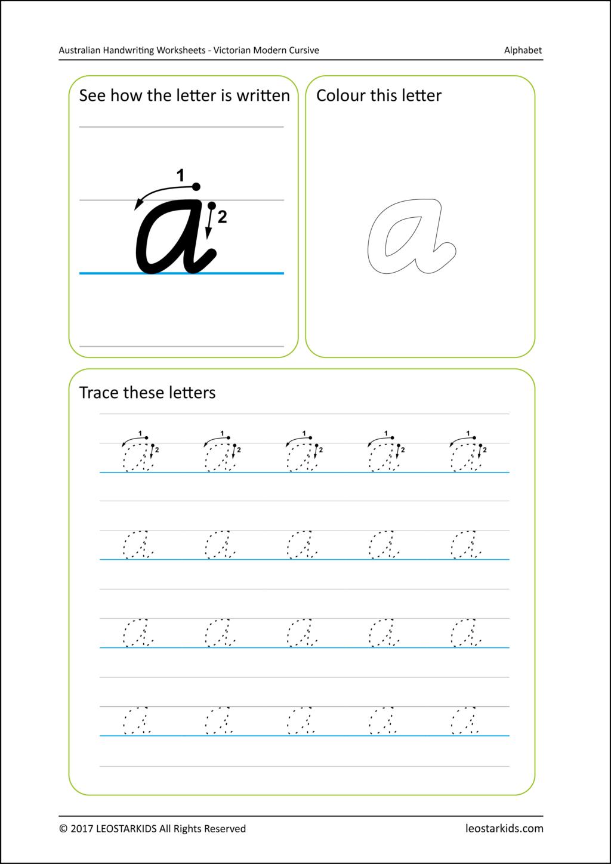 Name Tracing Worksheets Cursive