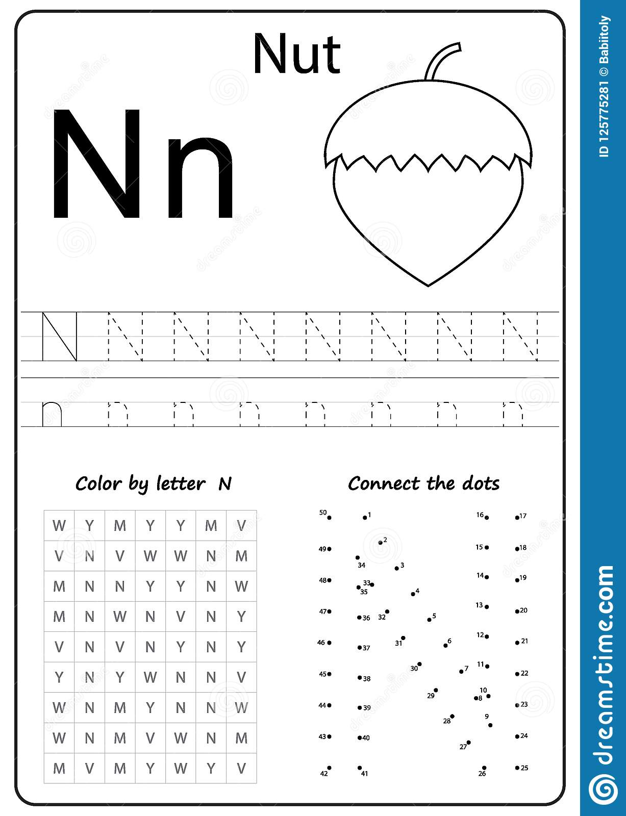 Letter Nn Worksheets For Preschool