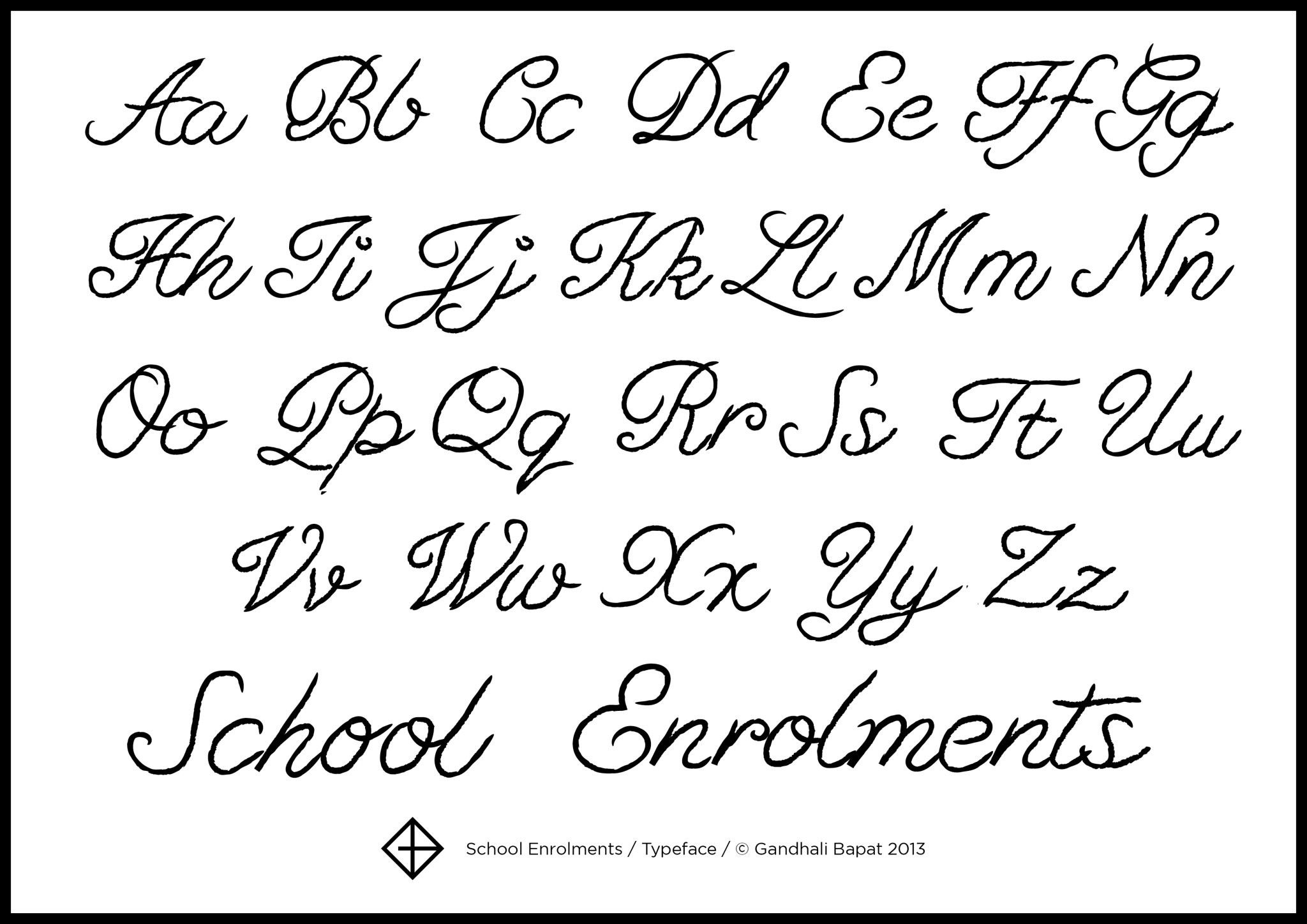 Cursive Alphabet Uk