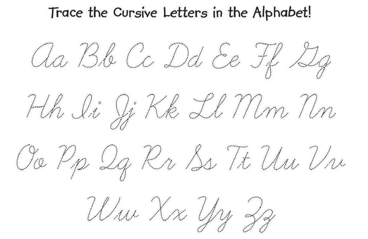Entire Cursive Alphabet