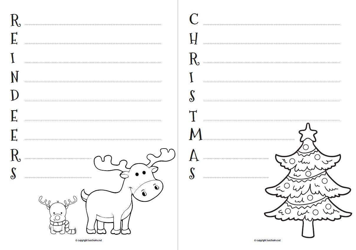Christmas Story Ks2 Worksheet
