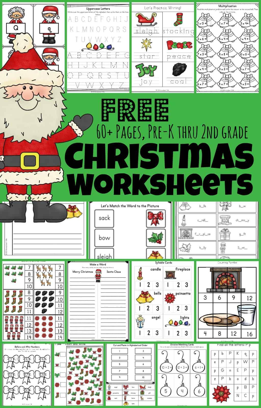 123 Homeschool For Me Christmas Tree Worksheet