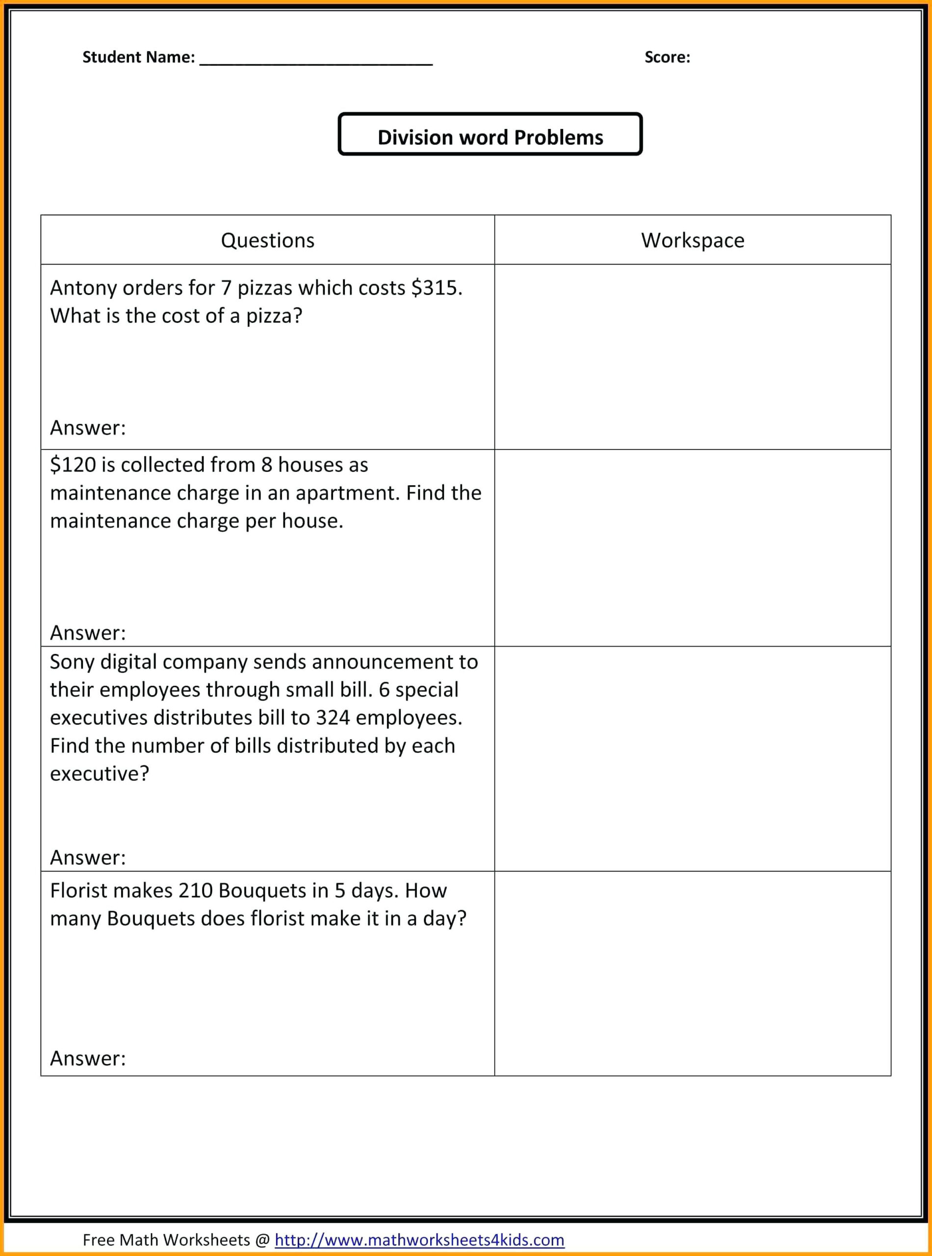 Free Halloween Worksheets For 5th Graders