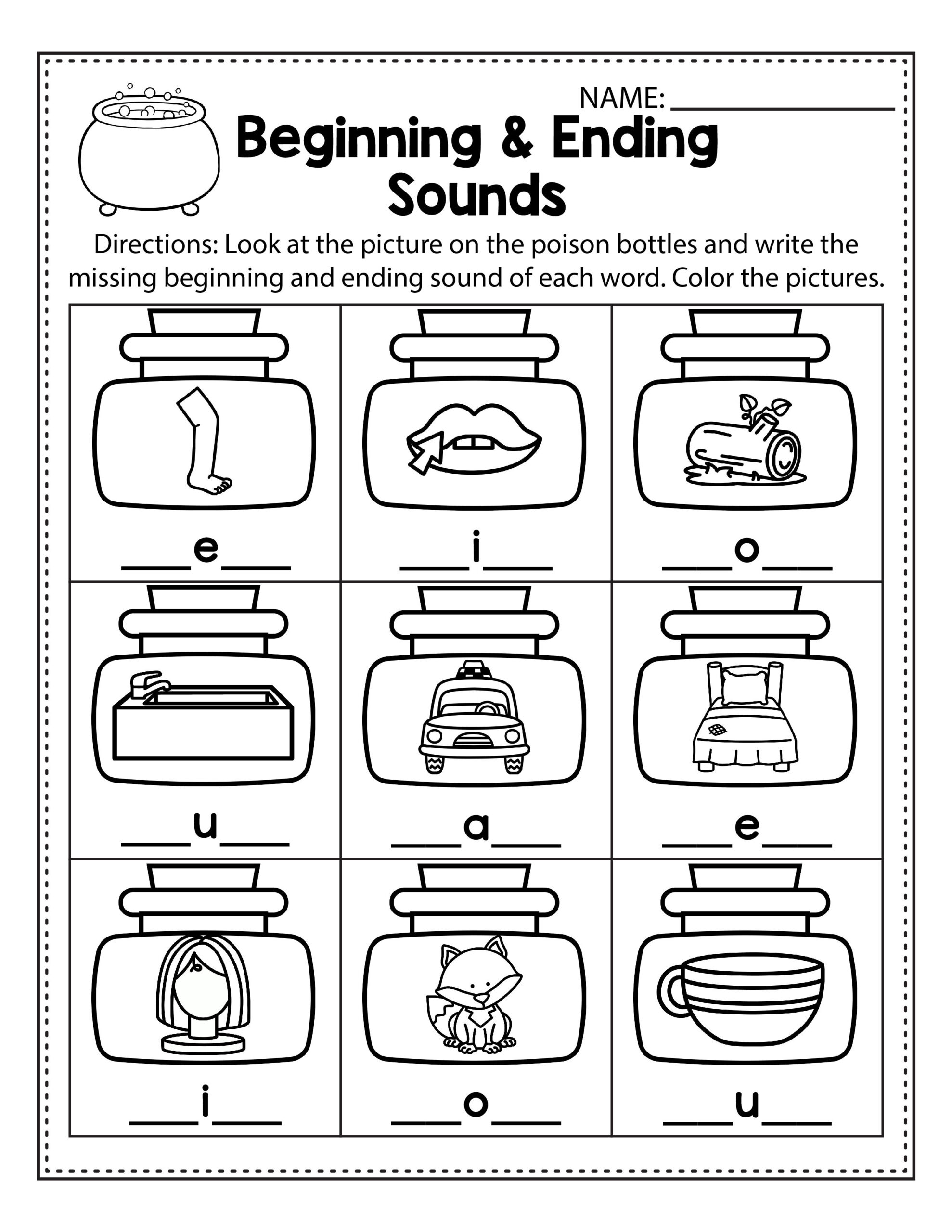 Fun Halloween Worksheets For 1st Grade