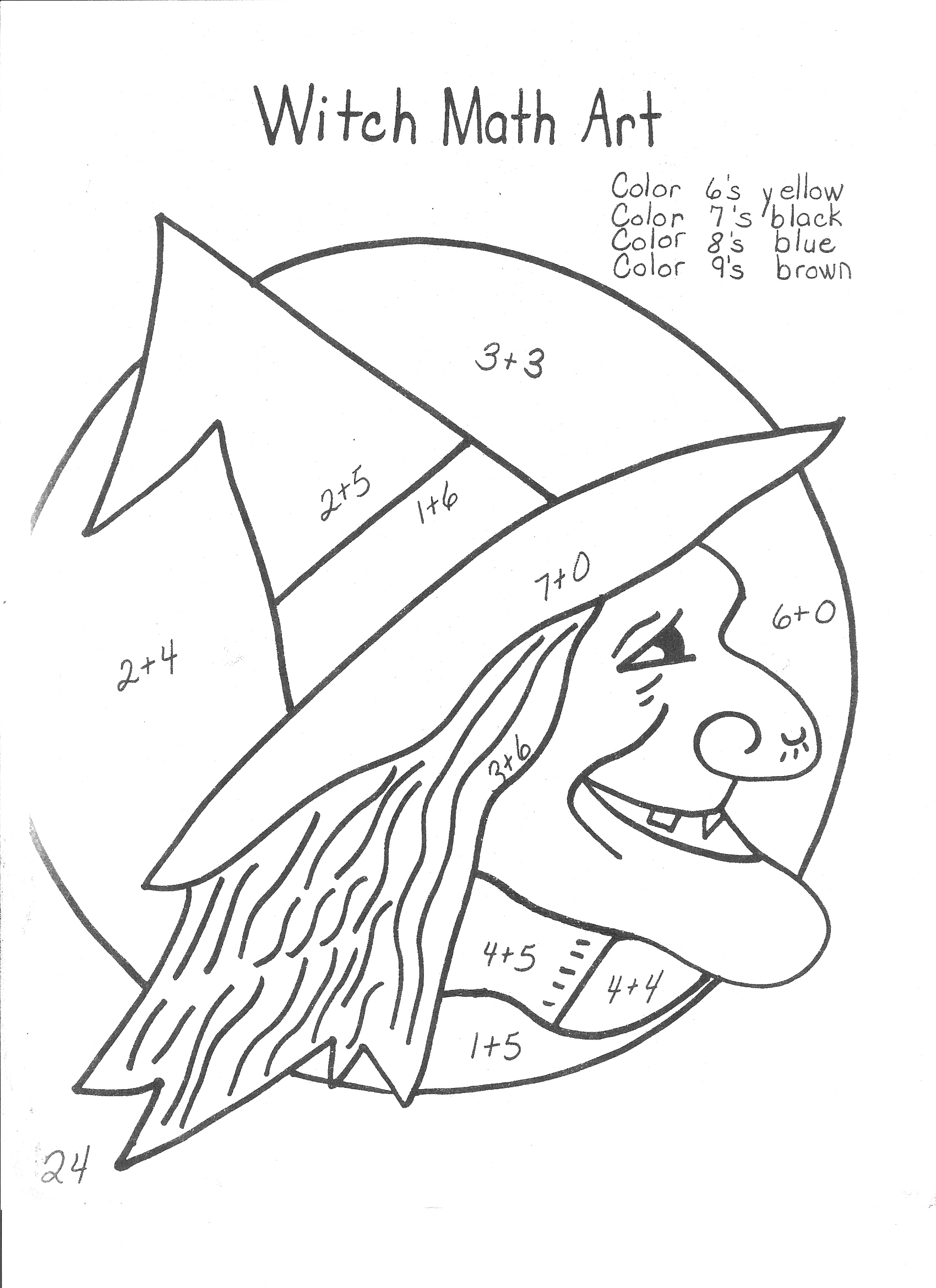 Halloween Multiplication Word Problems Worksheets