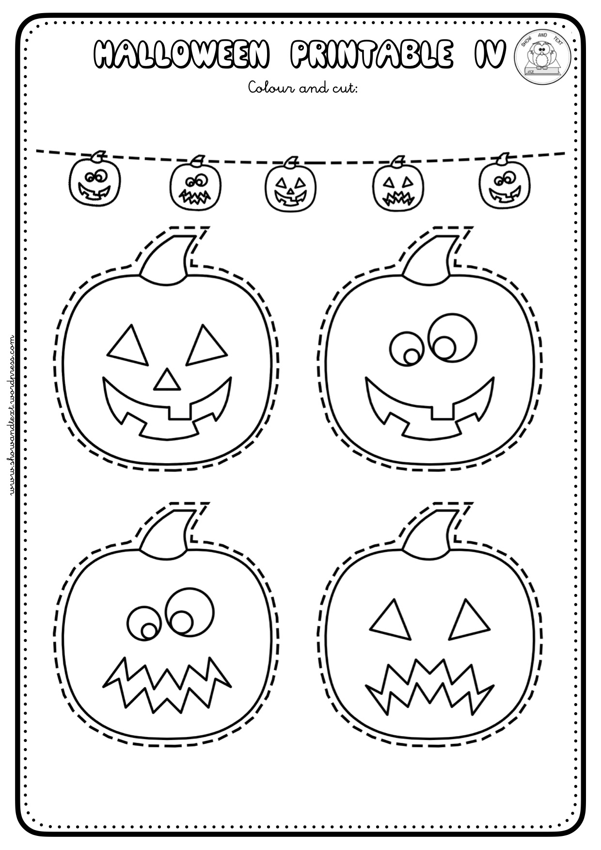 Halloween Pronoun Worksheets