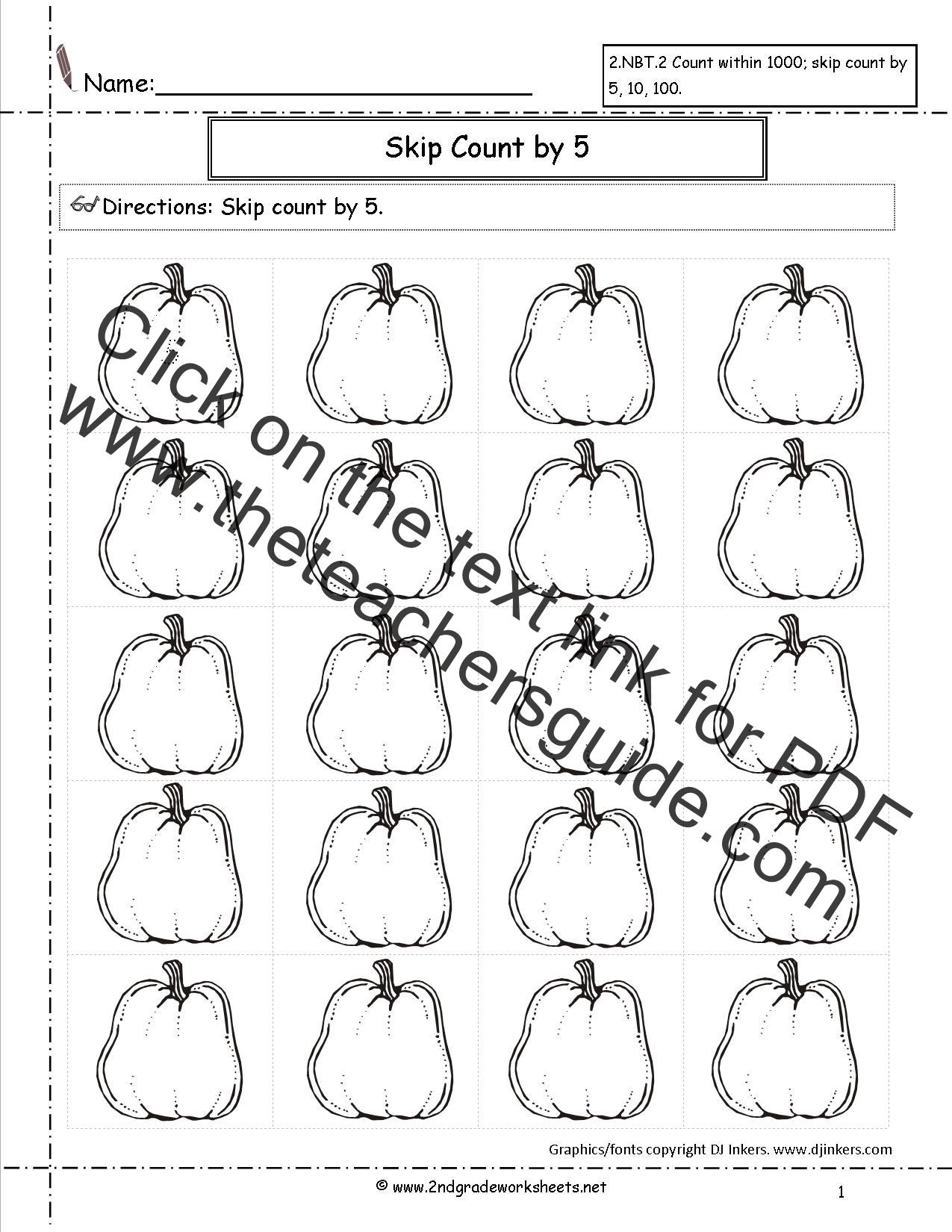 Halloween Exponent Worksheets