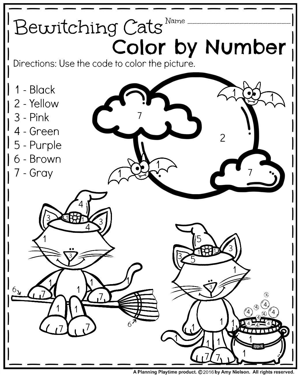 Pinterest Preschool Halloween Worksheets Pinterest