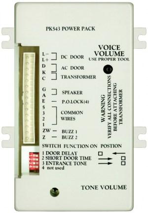 Alpha Communications™ PK543 543 WIRE APT AMPLIF2 TONES