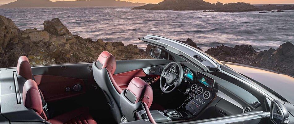 Cabrio Mercedes-Benz auto