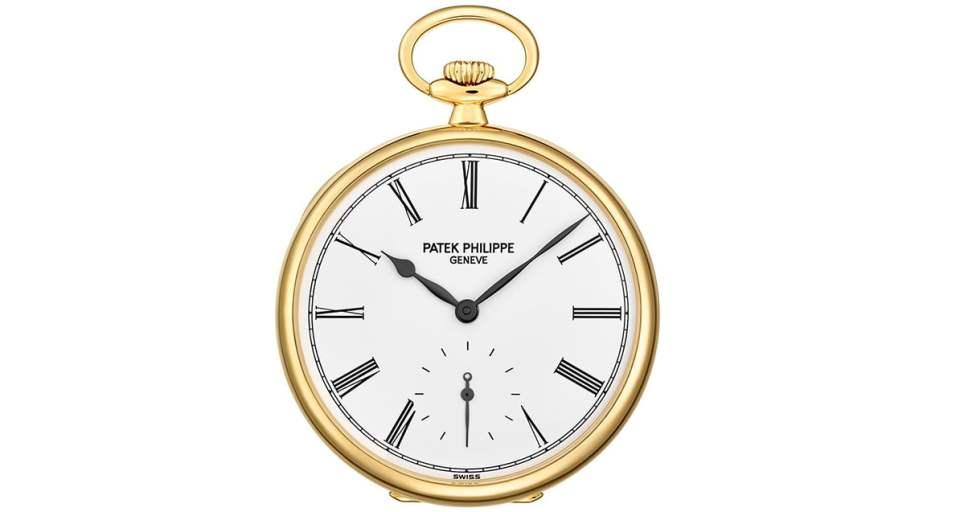 Patek Philippe 973J Open-face Pocket Watch