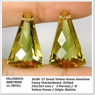 GemRock-Wellness_20.00 Green Ametrine_A pair_7843