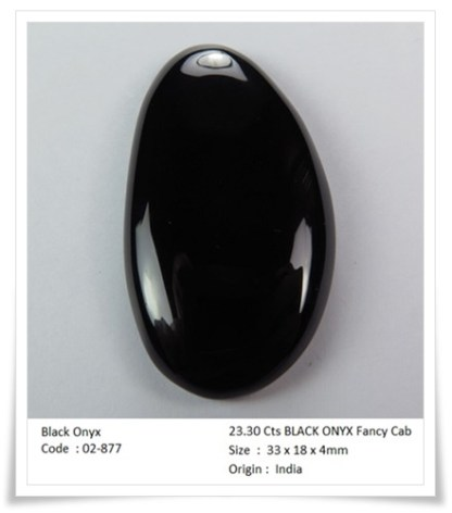 Rockgem_wellness_23.30 Cts BLACK ONYX Fancy Cab - 02877