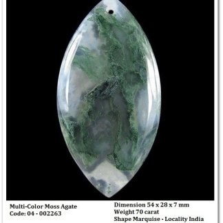 rockgem_wellness_Multi-Color Moss Agate Pendant - AG002263