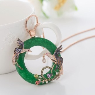 Uniquely-yours-gemstones-with-birds-green-jade-17854A