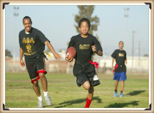 Mentoring - Annual Esquires Committee vs Esquires Flag Football Game