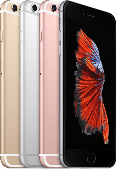 iphone 6s selection