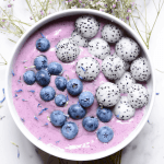 Simple Blueberry Kale Smoothie Bowl Recipe