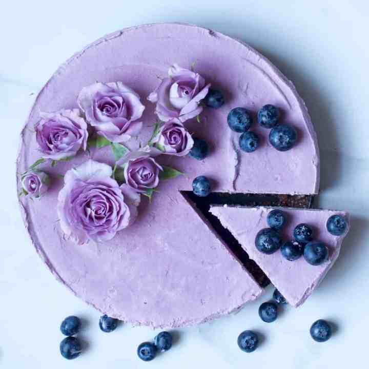 Raw Vegan Raspberry Cheesecake Recipe