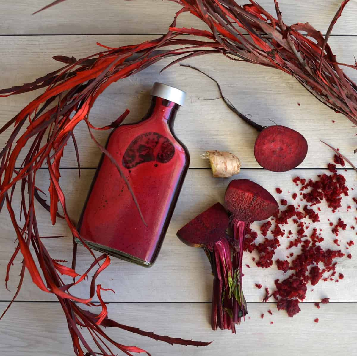 Simple Beetroot & Ginger Juice Recipe