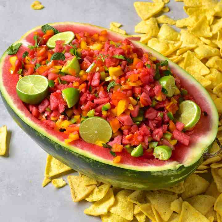 Quick & Simple Watermelon Salsa