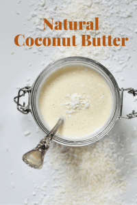 Homemade coconut butter. 1 ingredient organic coconut butter. 10 minutes. vegan, refined sugar-free, dairy-free.