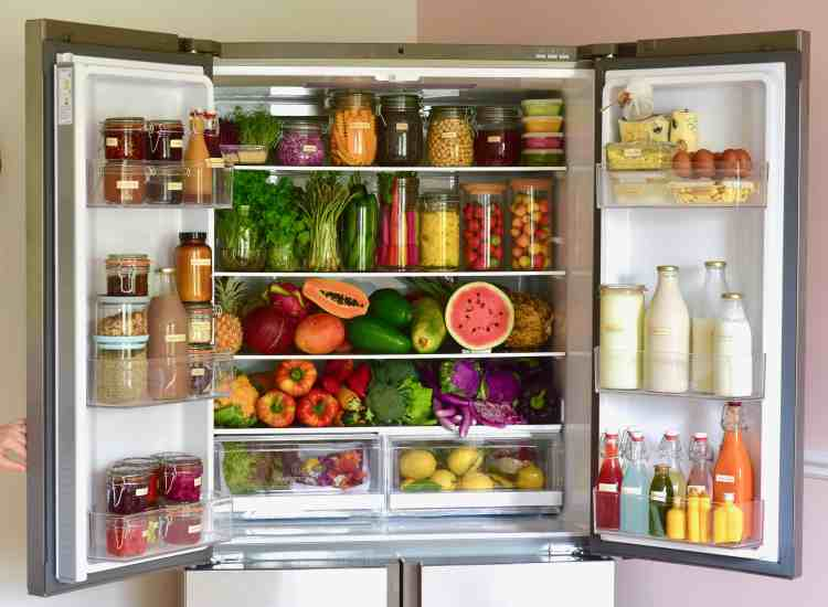 food storage hacks. how to organise your fridge.