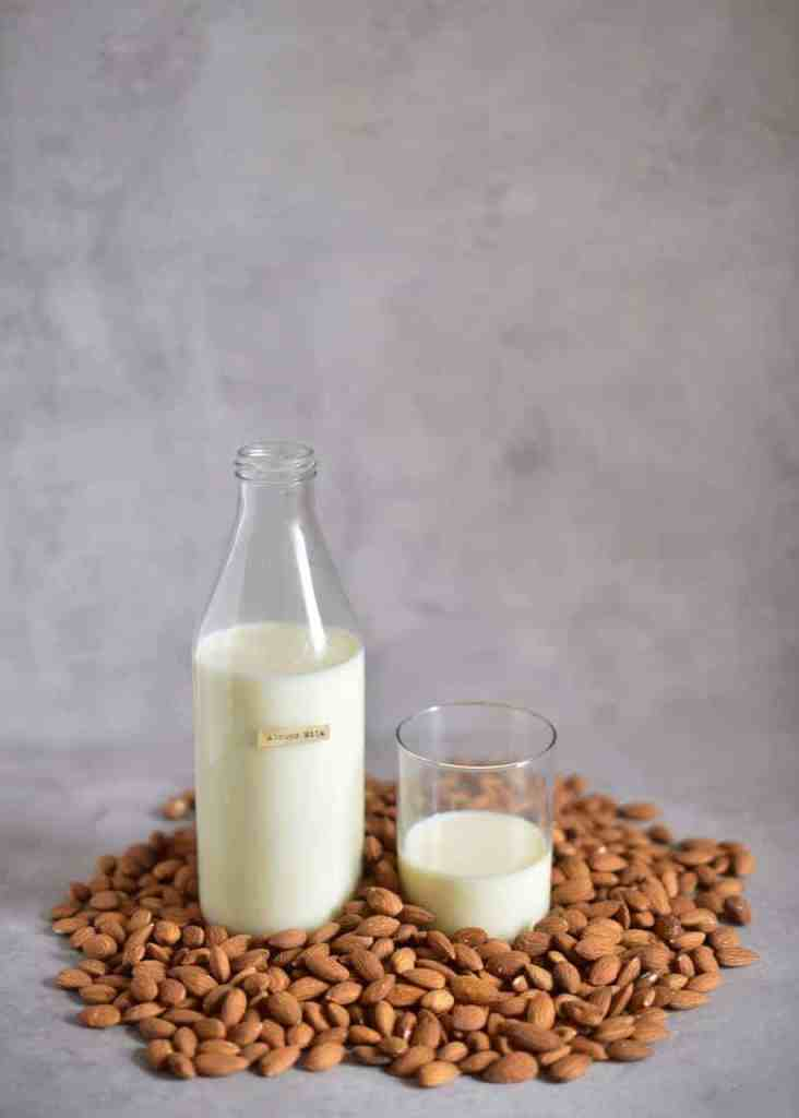 creamy & delicious two ingredient homemade almond milk, that can be easily flavoured! Plus, Zero Waste by using the leftover almond pulp! Super simple nut milks recipes