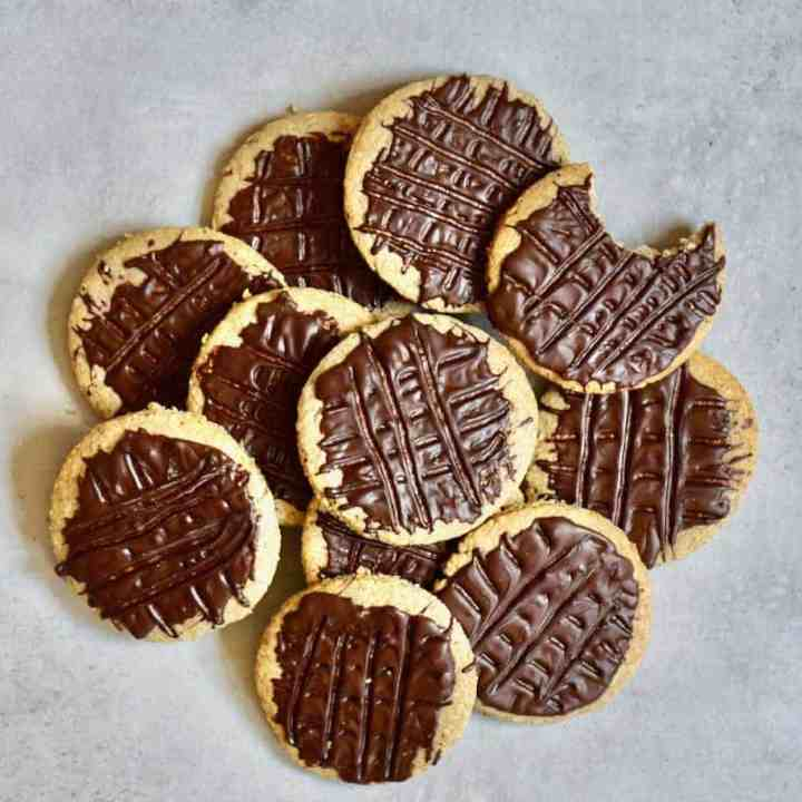 Healthier Digestive Style Biscuits